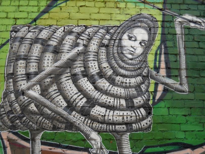 GRAFFITI - vandalism or art  4 of 9